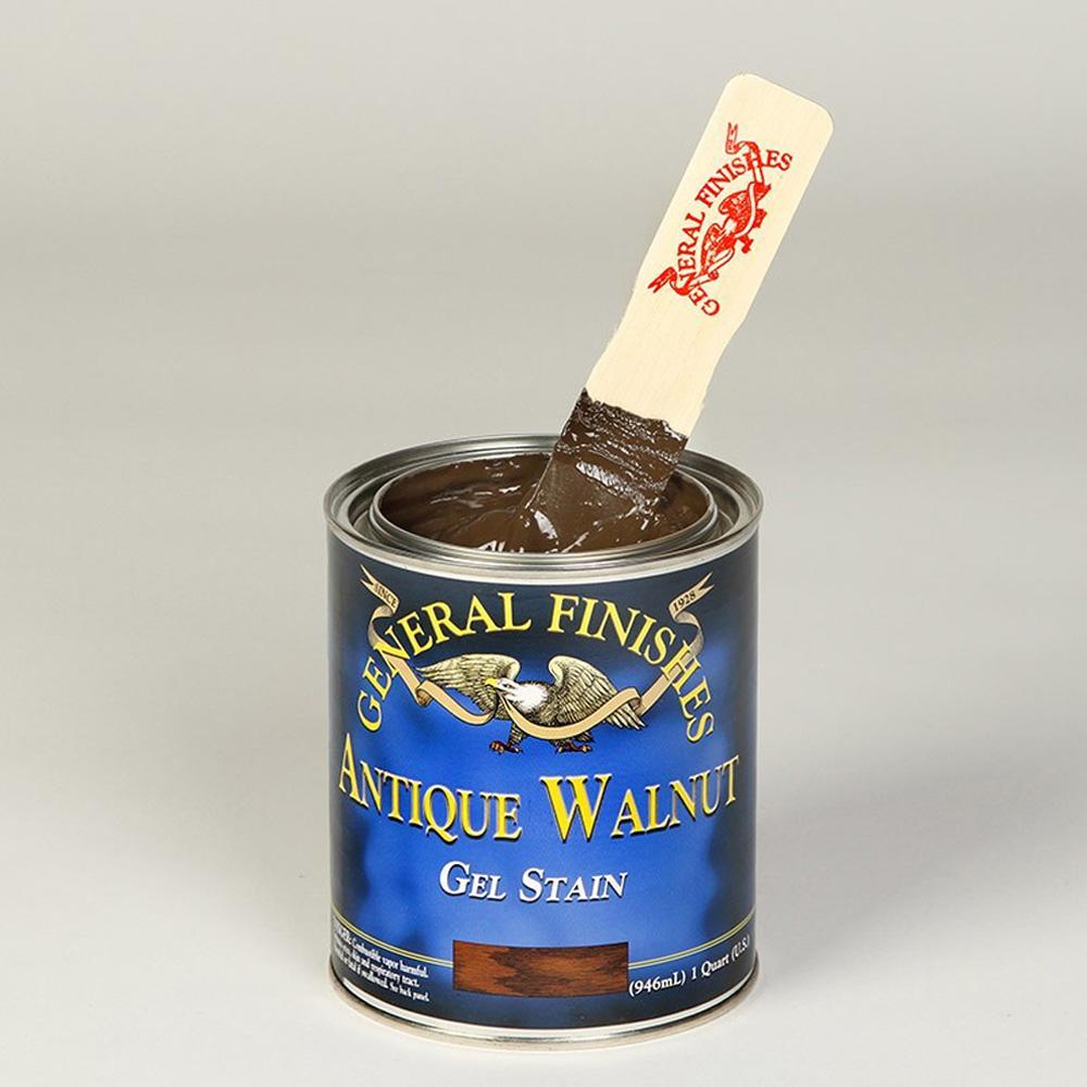 1-qt. Antique Walnut Oil-Based Interior Wood Gel Stain