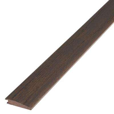 Weathered 3/8 in. Thick x 1.5 in. Wide x 78 in. Length Flush Reducer Engineered Hardwood Molding