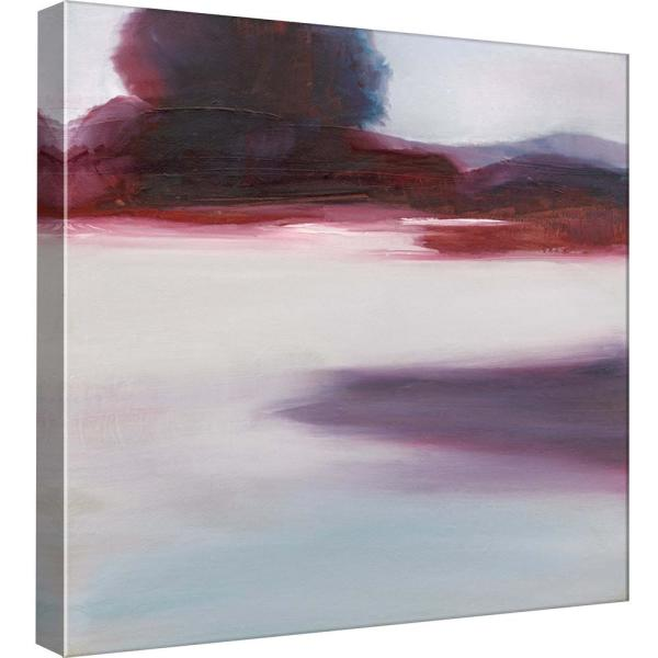 15 In X 15 In Cool Lagoon Printed Canvas Wall Art