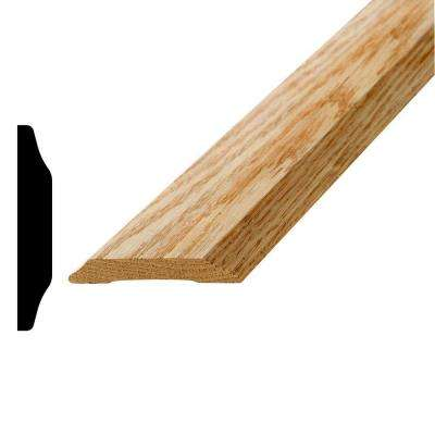 373 OS 5/8 in. x 3-5/8 in. x 72 in. Oak Saddle Threshold Moulding