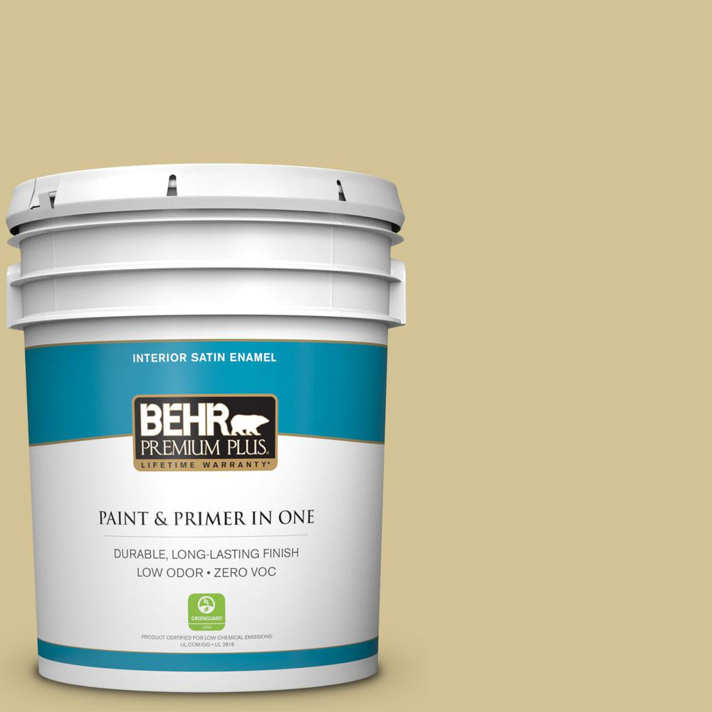5-gal. #M310-4 Almondine Satin Enamel Interior Paint