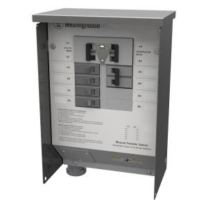 Westinghouse 50-Amp Manual Transfer Switch by Westinghouse