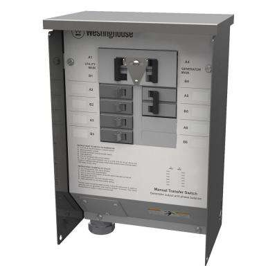50-Amp Manual Transfer Switch