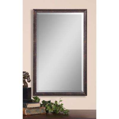 32 in. x 20 in. Bronze Vanity Framed Mirror