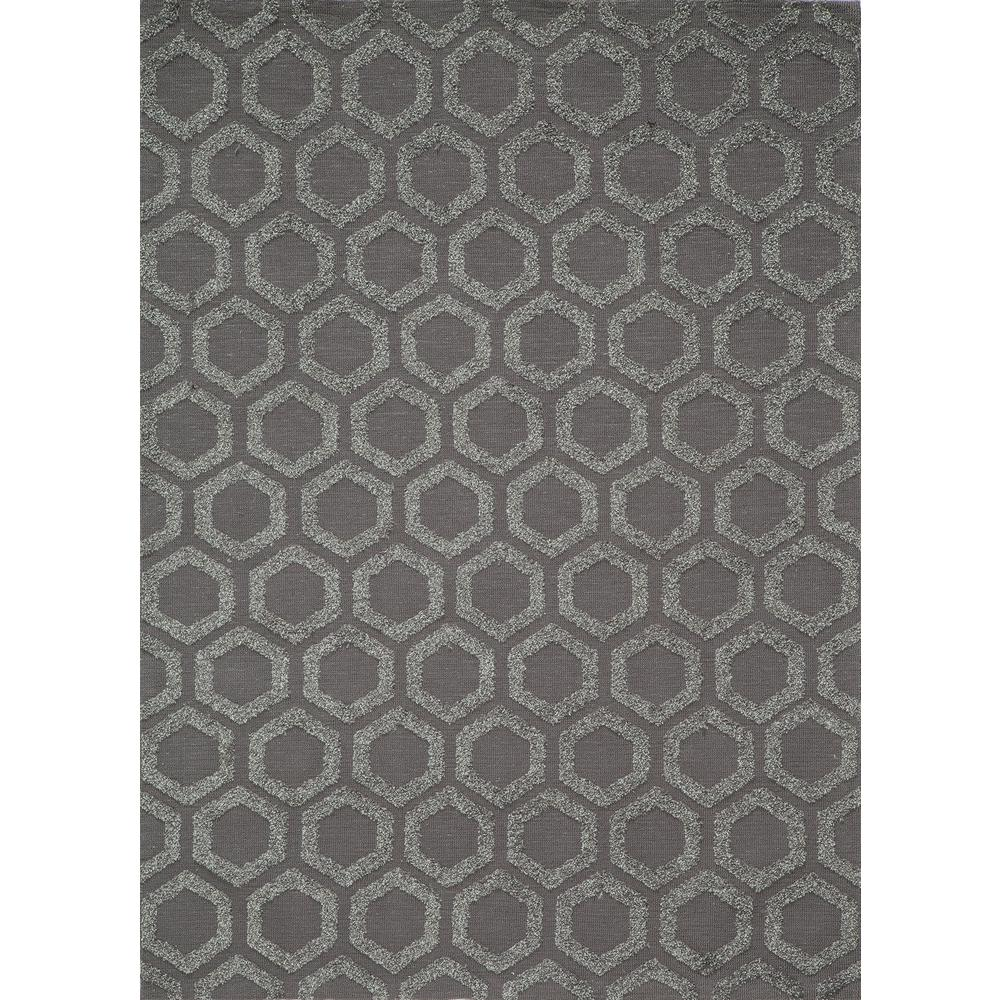 Heavenly Charcoal 5 ft. x 7 ft. Indoor Area Rug