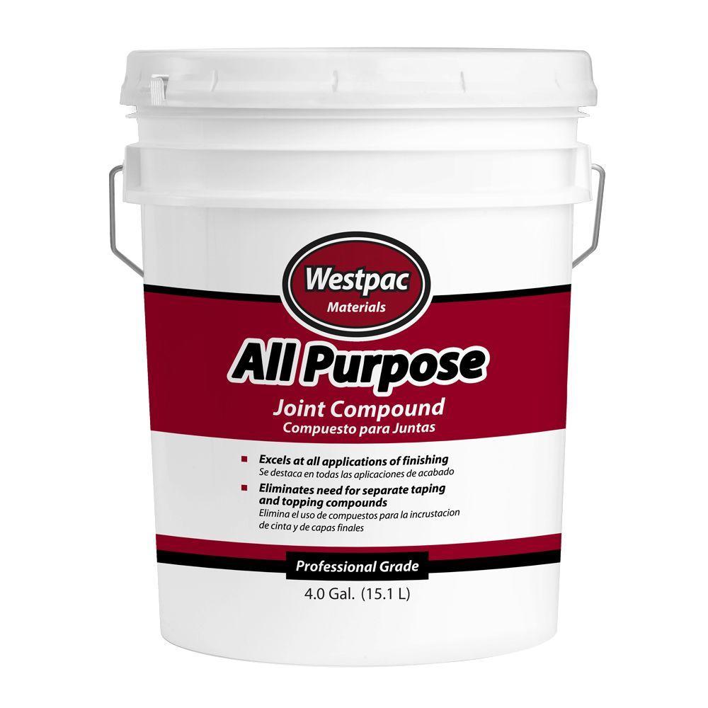 westpac materials 4 gal allpurpose premixed joint the home depot