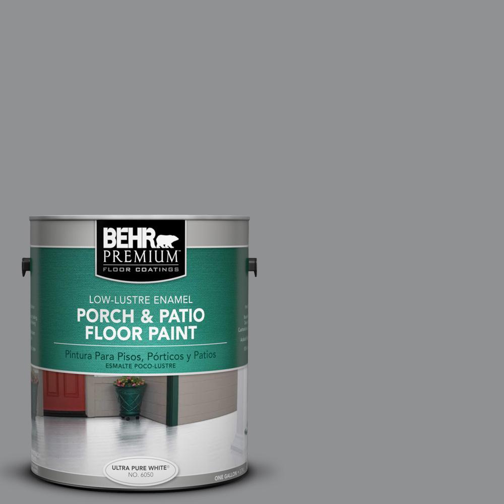 BEHR Premium 1 Gal. #N520-4 Cool Ashes Low-Lustre Porch