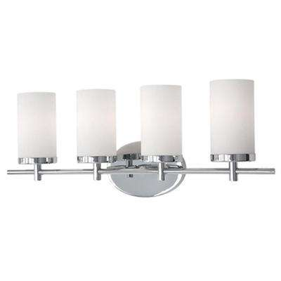Bailey 4-Light Chrome Bath Light