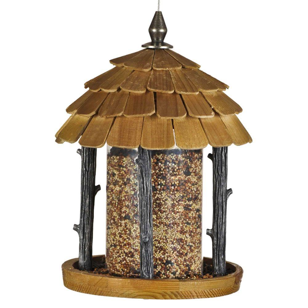 Peanut Feeder Made out of barn wood