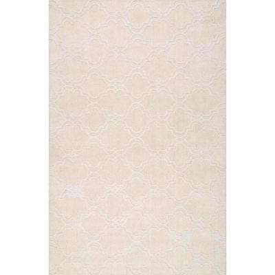 Wilhelmina Cream 9 ft. x 12 ft. Area Rug