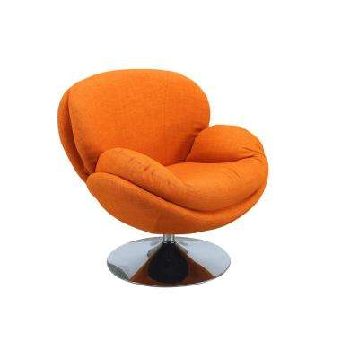 Comfort Chair Scoop Owaga Fabric Leisure Chair