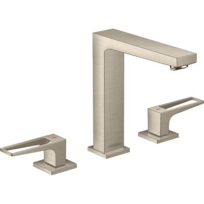 Metropol 8 in. Widespread 2-Handle Bathroom Faucet in Brushed Nickel