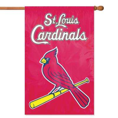 St. Louis Cardinals Applique Banner Flag