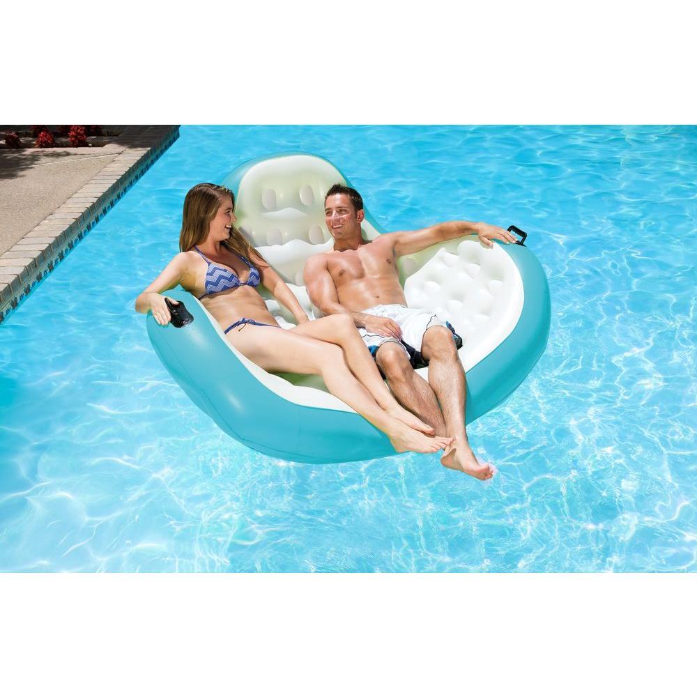 Aqua Cradle Swimming Pool Float Rider