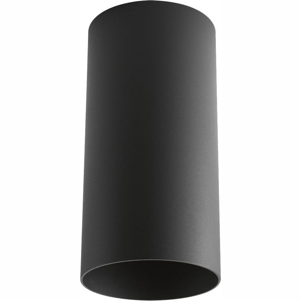 Progress Lighting Black Integrated LED Outdoor Flush Mount