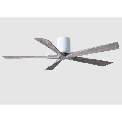 Irene 60 in. Indoor/Outdoor Gloss White Ceiling Fan With Remote Control And Wall Control
