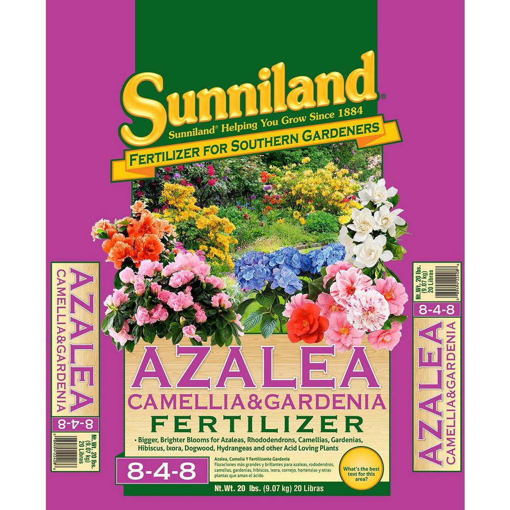 Sunniland 20 Lb Organic Azalea Gardenia Camellia Fertilizer 122408 The Home Depot