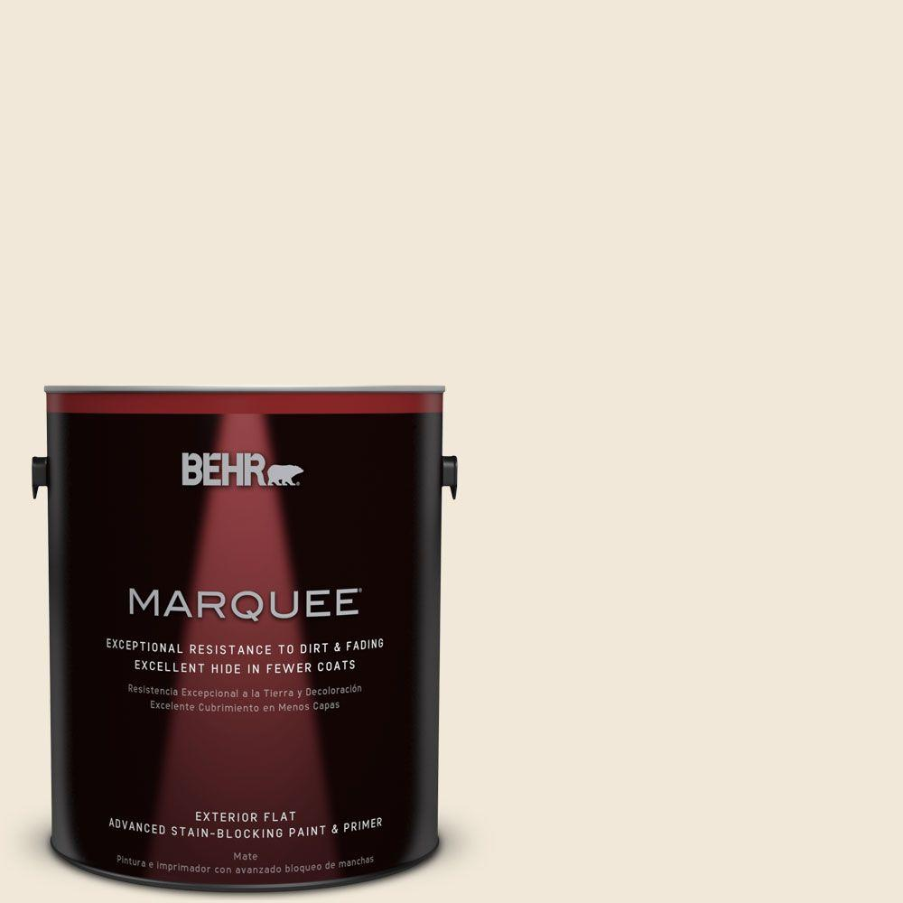 BEHR MARQUEE Home Decorators Collection 1-gal. #HDC-NT-03 Chenille Spread Flat Exterior Paint
