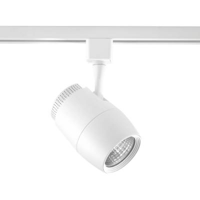 LED Track Collection White Integrated LED Track Lighting Head