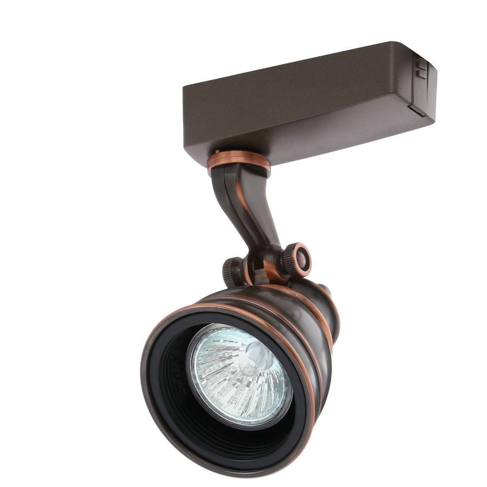 Trac-Lites Low-Voltage Bronze Bell Light