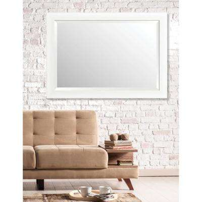 Acadia 29 in. x 41 in. Transitional Framed Bevel Mirror