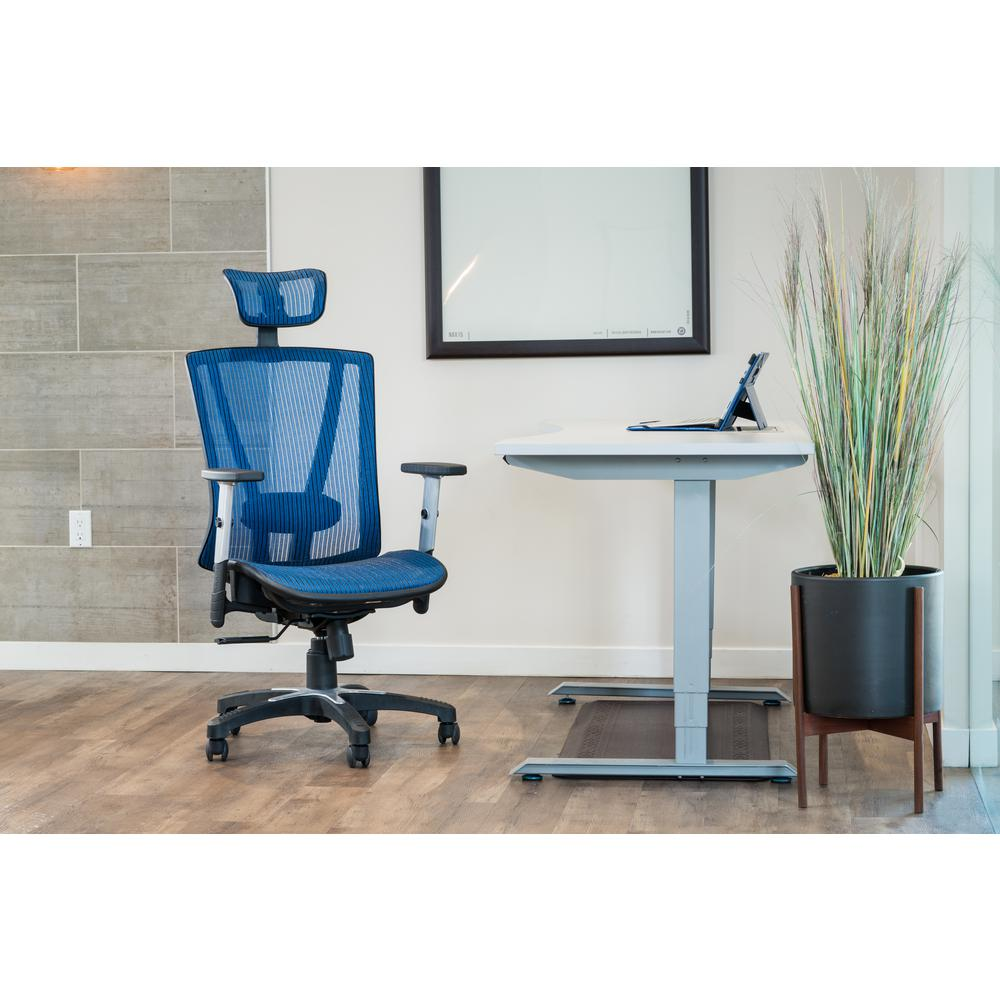 Canary Brown Mesh Office Chair