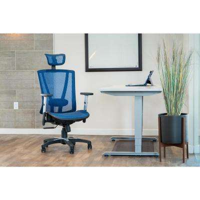 Brown Mesh Office Chair