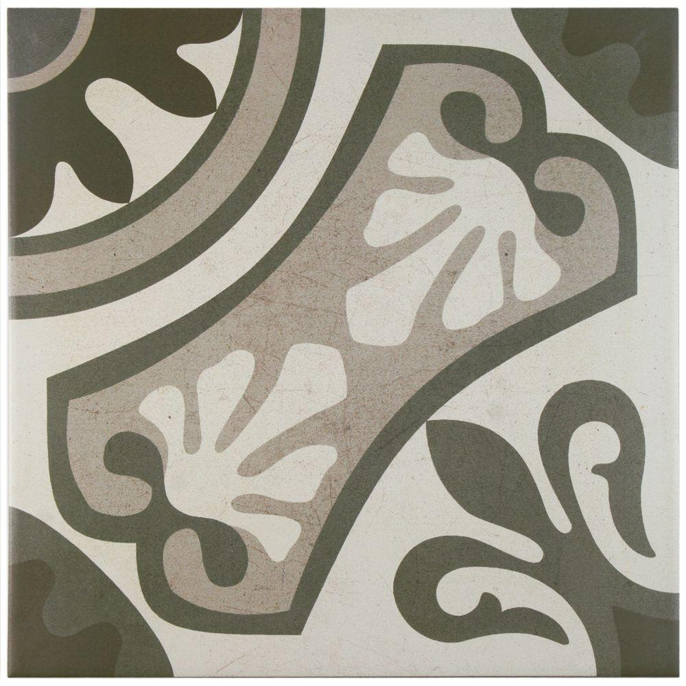 13x13 ceramic tile tile the home depot ceramic floor and wall tile 155 dailygadgetfo Images