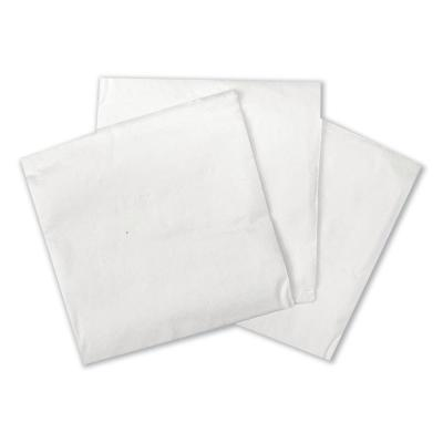 Cocktail Napkins, 1-Ply, 9 in. x 9 in., White, 500/Pack, 8 Packs/Carton