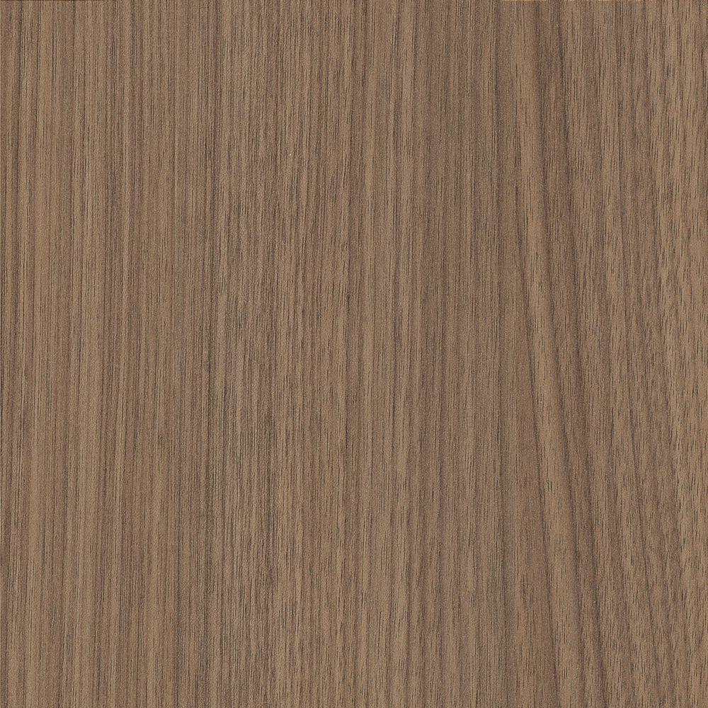 Wilsonart 2 in. x 3 in. Laminate Sample in NeoWalnut with a Fine ... for Light Brown Velvet Texture  104xkb