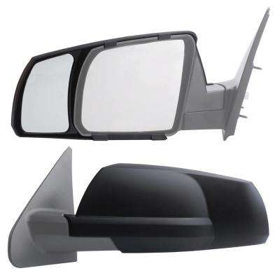 Clip-on Towing Mirror Set for 2007 - 2018 Toyota Tundra; 2008 - 2018 Toyota Sequoia