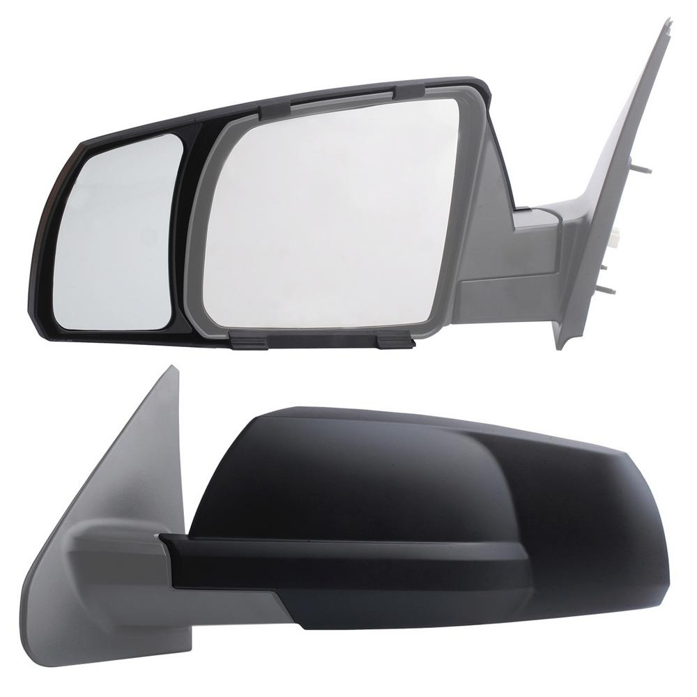 Clip-on Towing Mirror Set for 2007 - 2018 Toyota Tundra; 2008