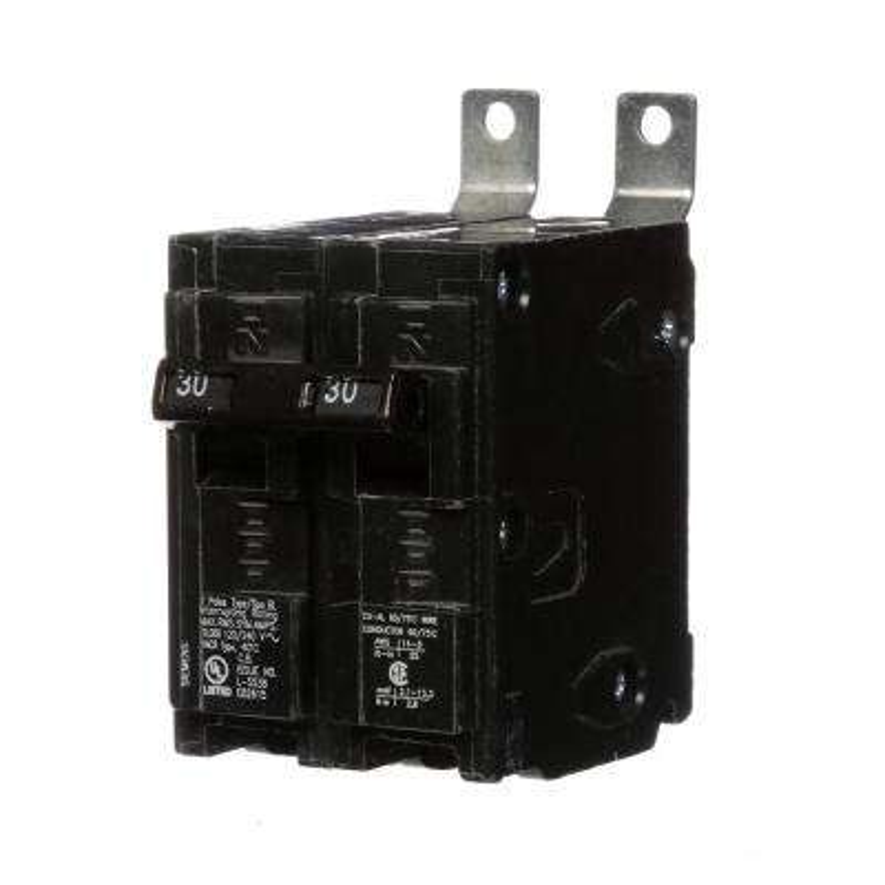 30 Amp 2-Pole Type BL Bolt-On-Circuit Breaker