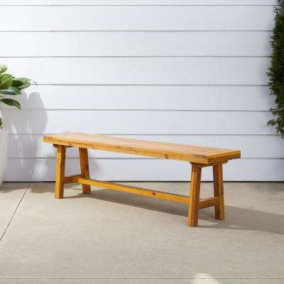 Superb Miami 3 Person Wood Outdoor Bench Gmtry Best Dining Table And Chair Ideas Images Gmtryco