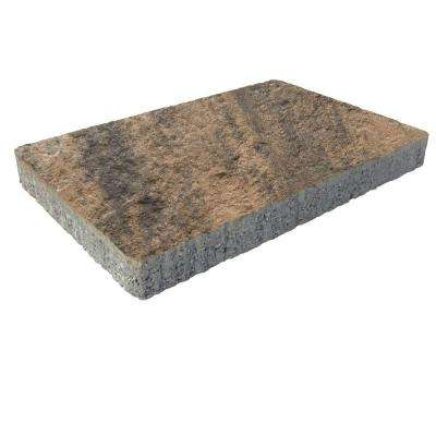 Capriana 3-pc 14 in. x 14 in. x 2 in. Espresso Concrete Paver (72 Pcs. / 98 Sq. ft. / Pallet)