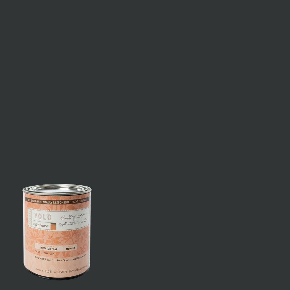 YOLO Colorhouse 1-Qt. Nourish .06 Flat Interior Paint-DISCONTINUED