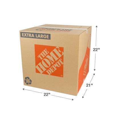 22 in. L x 21 in. W x 22 in. D Extra Large Moving Box
