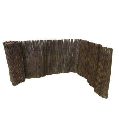 2 ft. H x 14 ft. L Willow Rolled Border Fence