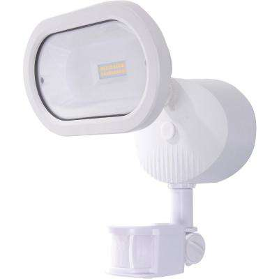 14-Watt White Outdoor Integrated LED Area Light