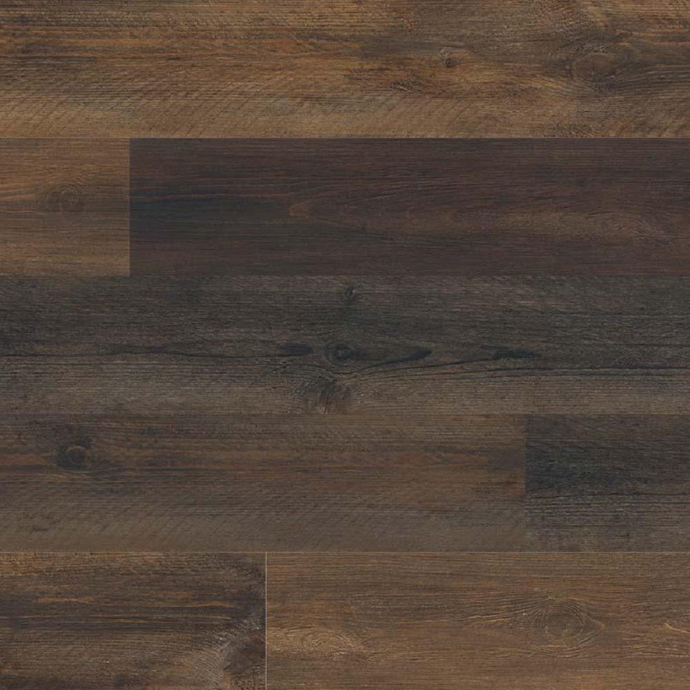Woodland Walnut Drift 7 in. x 48 in. Rigid Core Luxury Vinyl Plank Flooring (23.8 sq. ft. / case)