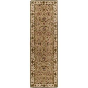 Artistic Weavers Norfolk Dark Tan 3 ft. x 12 ft. Rug Runner by Artistic Weavers