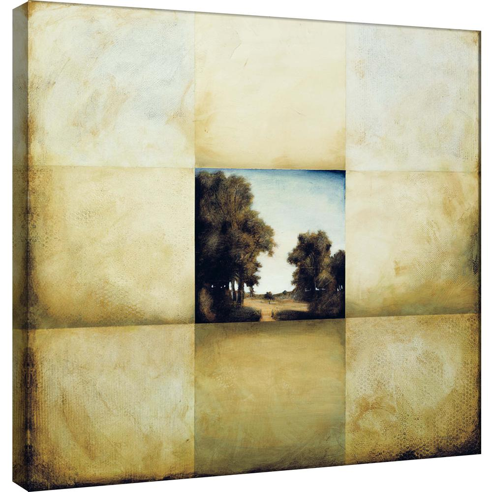 PTM Images 15.in x 15.in \'\'Meadow Window\'\' Printed Canvas Wall Art-9 ...