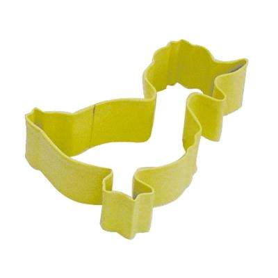 Duck 3.25 in. Daffodil Polyresin Cookie Cutter and Recipe (Lot of 12)
