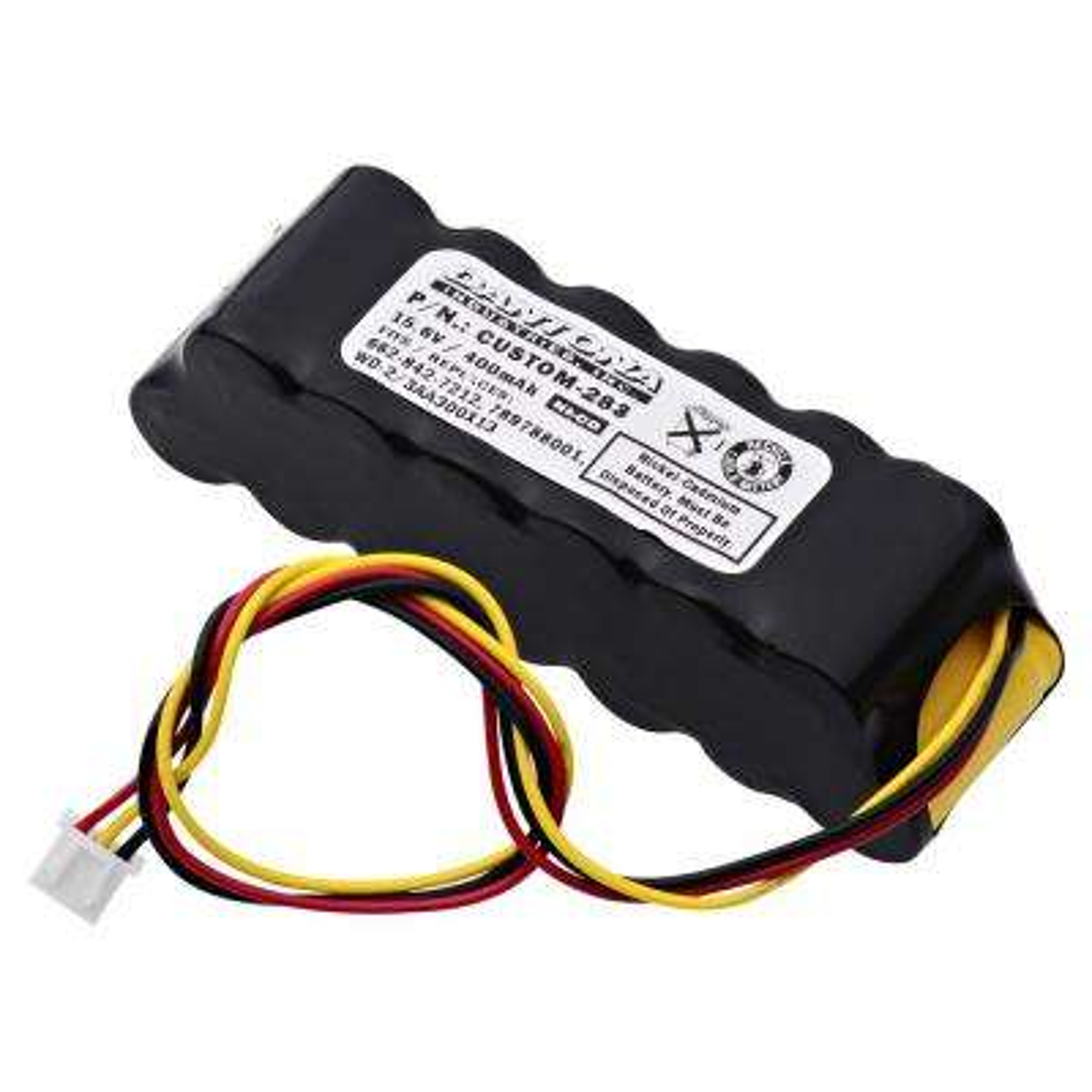 Dantona 15.6-Volt 400 mAh Ni-Cd battery for Chloride - 1000030118 RE-Volt A Emergency Lighting