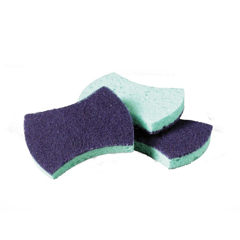 Scotch-Brite Medium Duty Sponge Scrubber (Pack of 20)