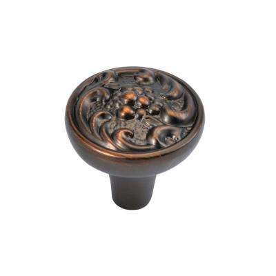 Mayfair 1-1/4 in. Refined Bronze Cabinet Knob