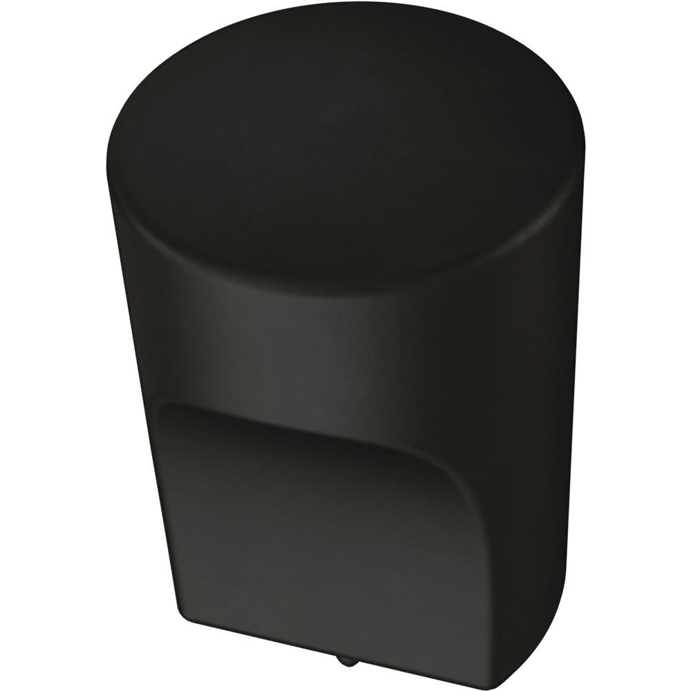 Liberty Liberty Modern Joinery 7/8 in. (22mm) Matte Black Cabinet Knob