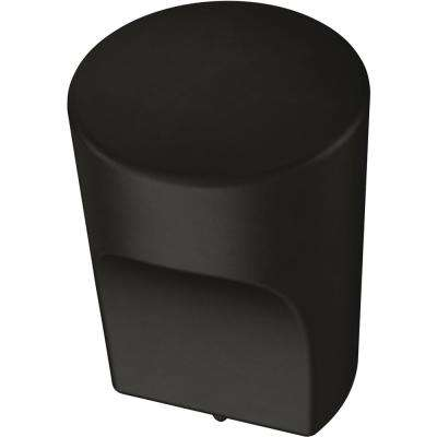 Modern Joinery 7/8 in. (22 mm) Flat Black Cabinet Knob