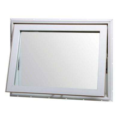 32 in. x 22 in. Top Hinge Awning Vinyl Window - White