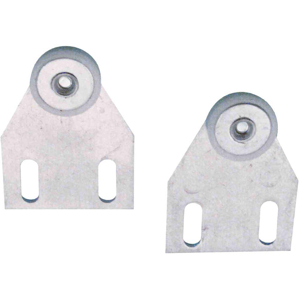 Prime-Line Top Edge Aluminum Shower Door Rollers (2-Pack)